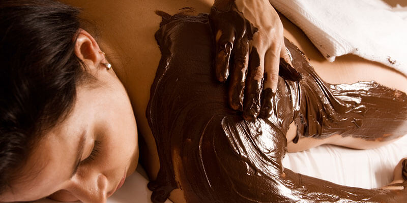 Masaza cokoladom