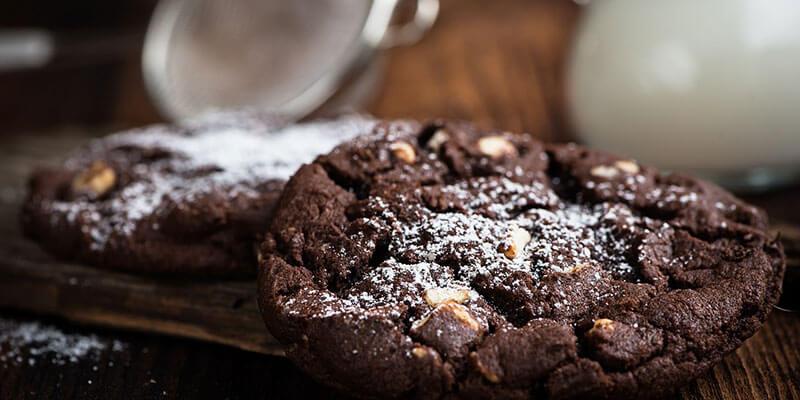 Čokoladni keksi bez pečenja
