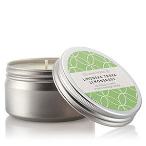 Limunska trava – biološka masaža svijeća, 100ml
