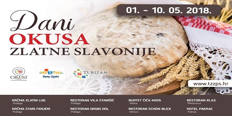 Ne propustite Okuse Zlatne Slavonije