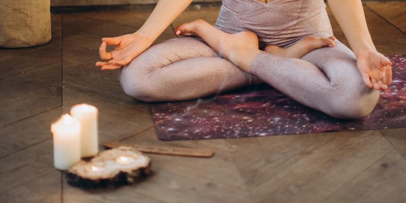 meditacija na plamen svijece